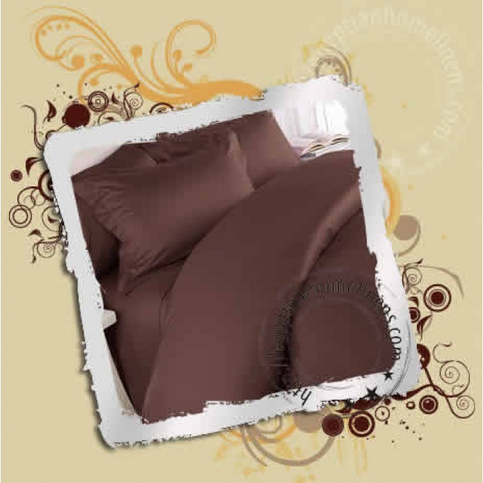US Stock Burgundy Solid Cal King Size 1 PC Fitted Sheet 1000TC Egyptian Cotton